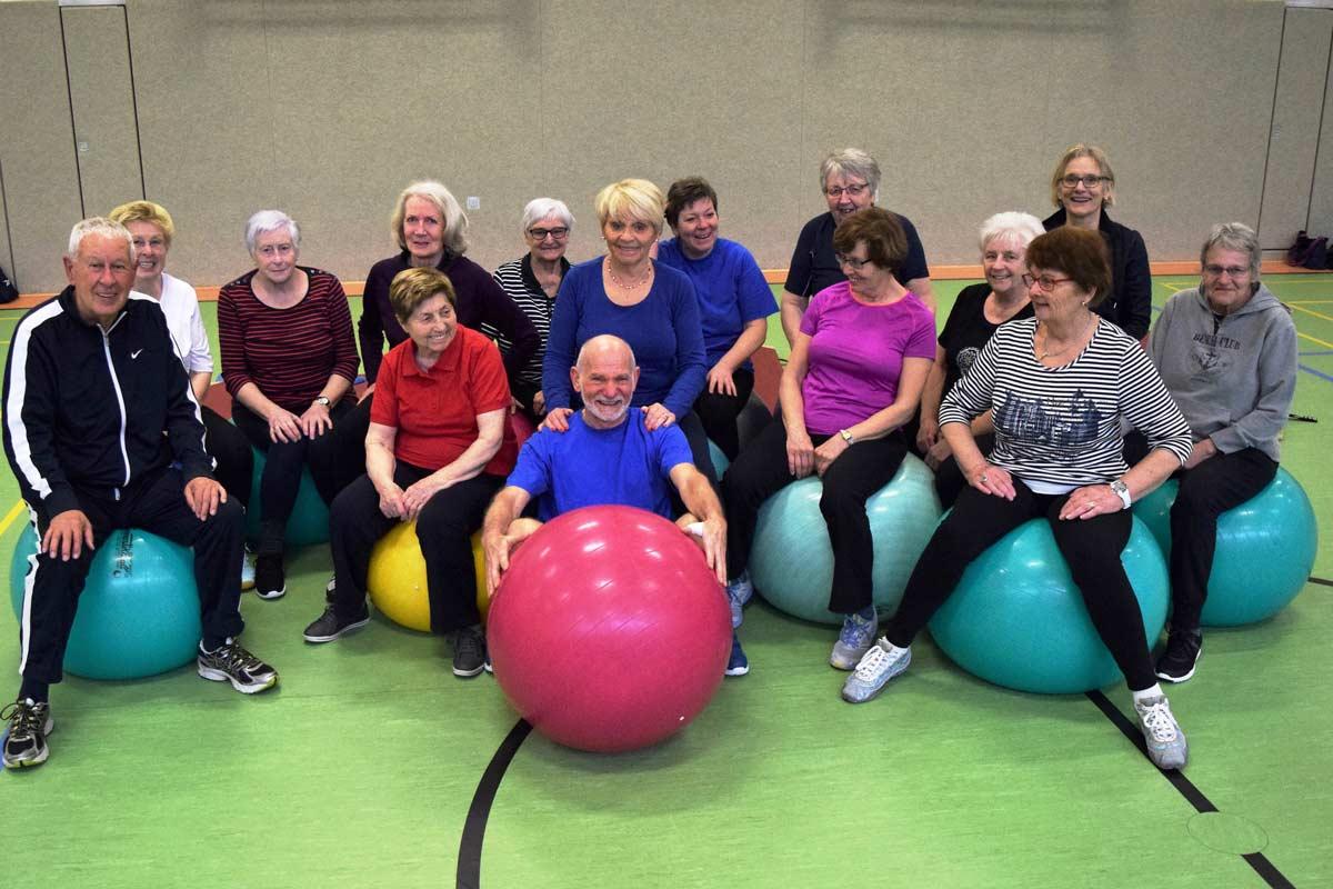 Seniorensport Für Frauen Und Männer Ab 60 Tv Büch Arsbeck