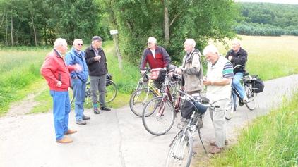 Ausflug der Männerturngruppe in der Umgebung von Manderscheid